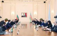 "Azerbaijani president, Bulgarian PM meet in expanded format <span class=""color_red"">[PHOTO]</span>"