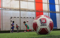 "First steps of AZFAR kids football school <span class=""color_red"">[PHOTO/VIDEO]</span>"