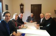 Azerbaijani FM meets OSCE MG co-chairs in Poland