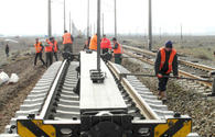 Overhaul at Baku-Boyuk Kesik railway section underway
