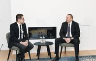 President Ilham Aliyev meets with chairman and CEO of Lazard Freres