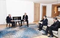 "President Ilham Aliyev meets with CEO of American company Blackstone <span class=""color_red"">[PHOTO]</span>"