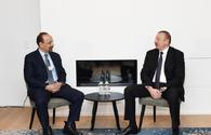 "President Ilham Aliyev meets with Saudi energy minister <span class=""color_red"">[PHOTO]</span>"