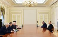 """President Aliyev receives OSCE Minsk Group co-chairs <span class=""""color_red"""">[UPDATE]</span>"""