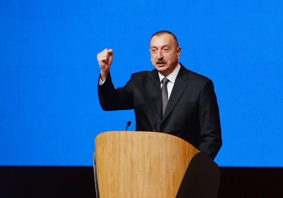 Azerbaijan's incumbent president Aliyev runs for office for 4th time