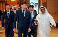Kyrgyz PM mulls priority areas of co-op with director general of UAE bank