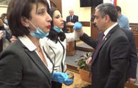 "Violence against woman at Yerevan's Council of Elders <span class=""color_red"">[PHOTO/VIDEO]</span>"