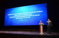 "Youth, athletes support Ilham Aliyev's candidacy at upcoming presidential election <span class=""color_red"">[PHOTO]</span>"