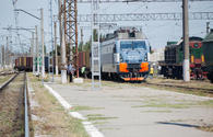 Kazakhstan sends off another freight train via Baku-Tbilisi-Kars railway