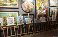 """Exhibition """"With love to Azerbaijan"""" takes place in Baku"""