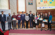 """Award ceremony of Barama's """"Science via Media"""" project held <span class=""""color_red"""">[PHOTO]</span>"""