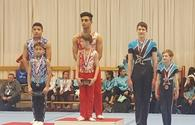 National gymnasts successfully perform at int'l competitions