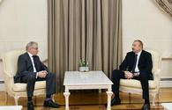 "Ilham Aliyev receives former president of Dutch Senate <span class=""color_red"">[UPDATE]</span>"