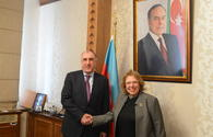 "Azerbaijani FM receives outgoing Egyptian ambassador <span class=""color_red"">[PHOTO]</span>"