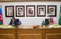 Azerbaijan, Saudi Arabia to cooperate in combating crime