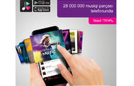 Enjoy millions of music pieces every day with Azercell Plus Music