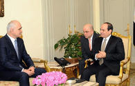 President: Egypt ready to cooperate with Azerbaijan in all spheres