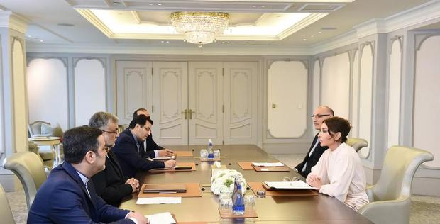"First VP Mehriban Aliyeva meets with head of Iran`s Islamic Culture and Relations Organization <span class=""color_red"">[PHOTO]</span>"