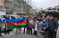 "Azerbaijanis in Munich hold protest rally over Khojaly genocide <span class=""color_red"">[PHOTO]</span>"