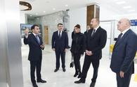 "Azerbaijan's president, First Lady attend opening of ASAN Heyat in Mingachevir <span class=""color_red"">[UPDATE]</span>"