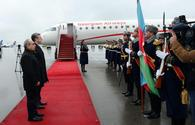 "Georgian PM arrives in Azerbaijan <span class=""color_red"">[PHOTO]</span>"