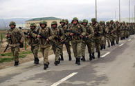 "Azerbaijani Armed Forces' troops continue military drills <span class=""color_red"">[VIDEO/PHOTO]</span>"