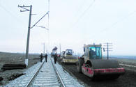 Repair of Baku-Boyuk Kasik railway continues