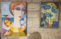 """Colorful exhibition inspired by women opens in Baku <span class=""""color_red"""">[PHOTO]</span>"""