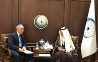 Permanent representative of Azerbaijan to the OIC presents letter of credence to the Secretary General