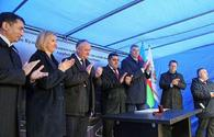 "Foundation laid for Cultural Education Center in Moldova with Heydar Aliyev Foundation's sponsorship <span class=""color_red"">[PHOTO]</span>"