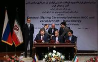 Iran and Russia sign deal to develop two oilfields