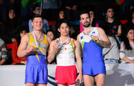 "Baku hosts awarding ceremony of winners of first day of FIG Artistic Gymnastics World Cup <span class=""color_red"">[PHOTO]</span>"