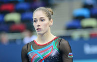 "Azerbaijani gymnast wins silver in vault competitions at Artistic Gymnastics World Cup <span class=""color_red"">[PHOTO]</span>"