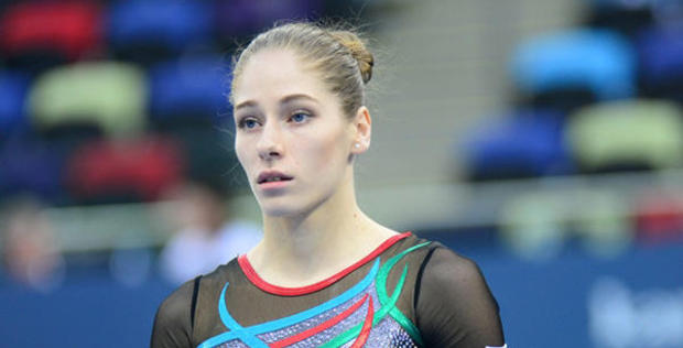 """Azerbaijani gymnast wins silver in vault competitions at Artistic Gymnastics World Cup <span class=""""color_red"""">[PHOTO]</span>"""
