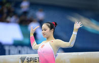Winners in women's balance beam competitions determined at FIG World Cup in Baku