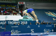 Slovenian gymnast: I like how Baku spectators support foreign gymnasts