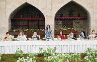 """First VP Mehriban Aliyeva meets with spouses of heads of diplomatic missions in Baku <span class=""""color_red"""">[PHOTO]</span>"""