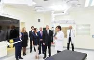"Azerbaijani president, first lady attend opening ceremony of Bona Dea Int'l Hospital <span class=""color_red"">[PHOTO]</span>"