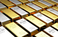 Gold, silver platinum prices down in Azerbaijan