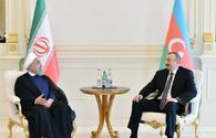 "Azerbaijani, Iranian presidents have one-on-one meeting <span class=""color_red"">[PHOTO]</span>"