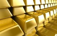 Gold price in Azerbaijan down