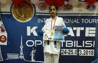 "Azerbaijan's young karate fighter becomes World Champion <span class=""color_red"">[PHOTO/VIDEO]</span>"