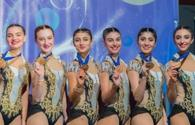 Graceful gymnasts win bronze in France