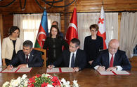 "Azerbaijan, Turkey, Georgia agree on co-op in defense sphere <span class=""color_red"">[PHOTO]</span>"