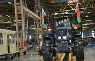 Ganja Automobile Plant produces 10,000th Belarus tractor