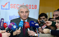 Chairman of Azerbaijani CEC talks on OSCE ODIHR's activities to monitor presidential election