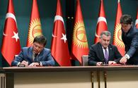 Turkey, Kyrgyzstan sign joint documents on cooperation