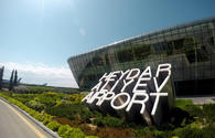 Heydar Aliyev International Airport served about 900,000 passengers for the first quarter of 2018