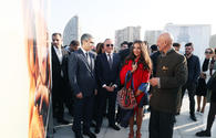 """Heydar Aliyev Foundation Vice President attends solo exhibition of well-known photographer Reza Deghati at the Heydar Aliyev Center <span class=""""color_red"""">[PHOTO]</span>"""