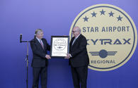 "Heydar Aliyev Int'l Airport receives most prestigious award in the world <span class=""color_red"">[PHOTO]</span>"